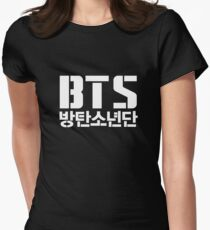 BTS/Bangtan Sonyeondan Women's Fitted T-Shirt