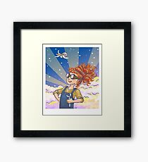 Engineer Girl Framed Print