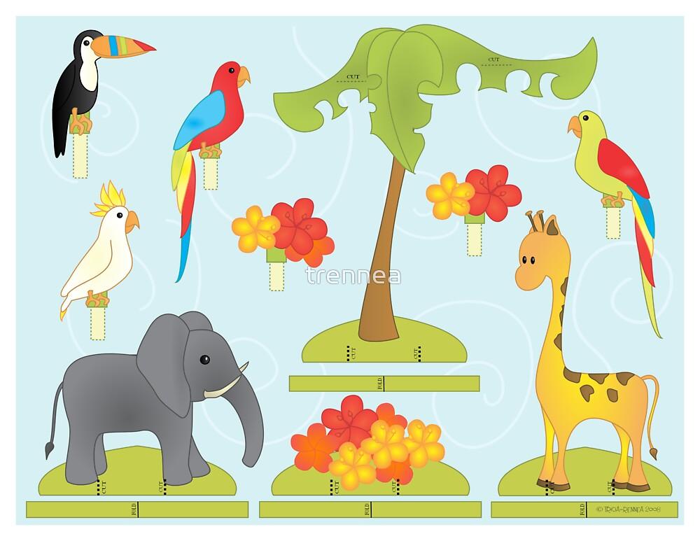 Jungle Play-Set by trennea