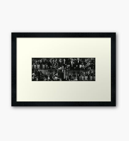 The Brass band Framed Print