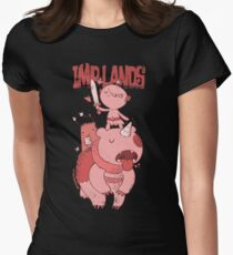 Imp Lands Heroes 2 (Pink) Women's Fitted T-Shirt