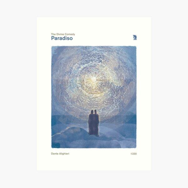 Dante Alighieri - La Divina Comedia, Paradiso Lámina artística