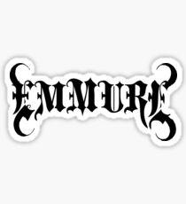 Band Emmure Logo Black Sticker