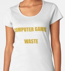 Computer Gaming Women's Premium T-Shirt