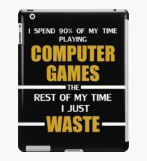 Computer Gaming iPad Case/Skin