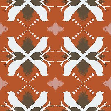 Autumn Birds by peaceofpistudio