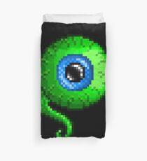 Jacksepticeye Pixel art logo - SepticeyeSam Duvet Cover