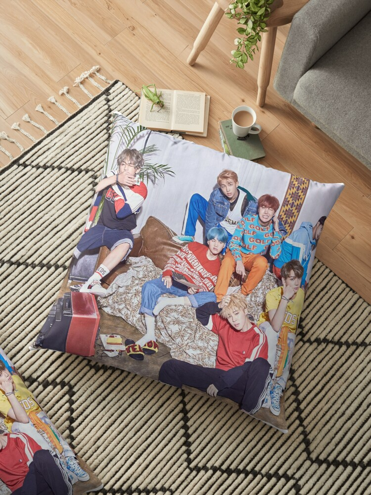 Bts love yourself concept photo poster floor pillows by kpopl bts love yourself concept photo poster by kpopl solutioingenieria Images