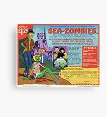 Sea-Zombies Canvas Print