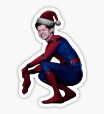 santa hat tom/peter :) Sticker