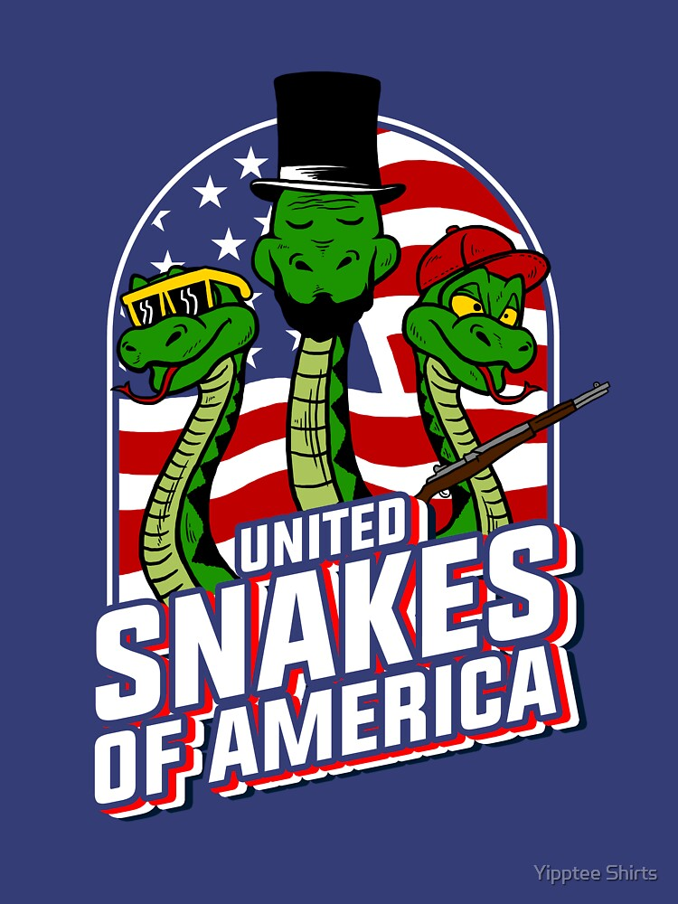 United Snakes Of America by dumbshirts