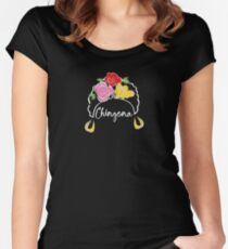 Chingona reversed Women's Fitted Scoop T-Shirt
