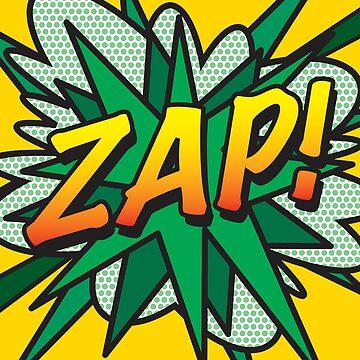 Comic Book Pop Art ZAP! by theimagezone