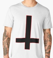 Satanic Cross  Men's Premium T-Shirt