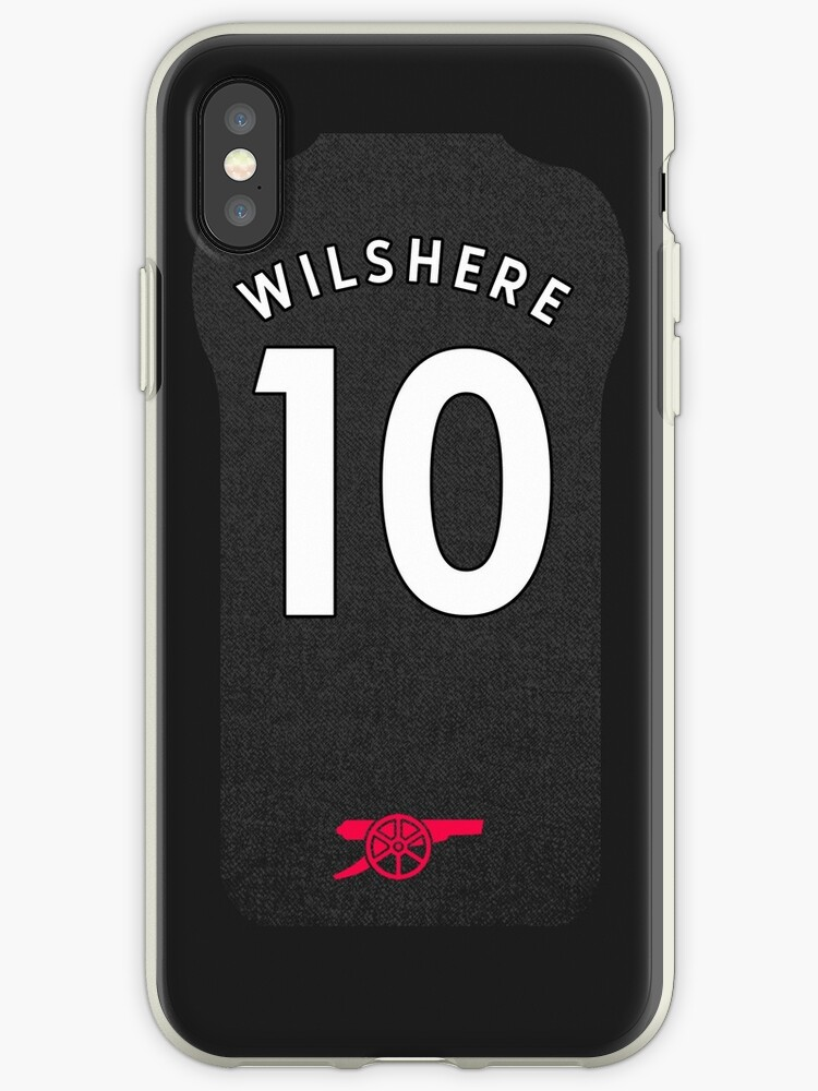 Jack Wilshere iPhone Arsenal Third Shirt by dandroid707