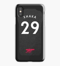 Granit Xhaka iPhone Arsenal Third Shirt iPhone Case/Skin