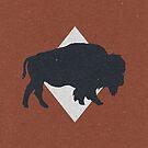Bison & Blue by Zeke Tucker
