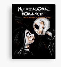 My Seasonal Romance Canvas Print