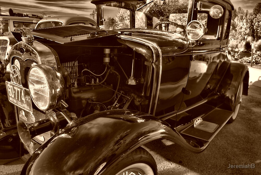 Very classic car and classic engine by JeremiahB