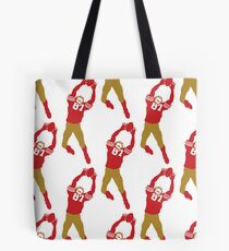 The Catch - Red Tote Bag