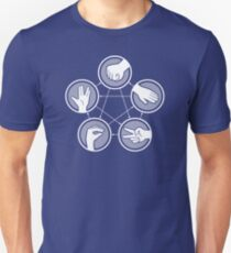Rock Paper Scissors Lizard­ Spock­ T-Shirt