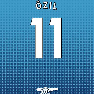 Mesut Ozil iPhone Arsenal Away Shirt by dandroid707