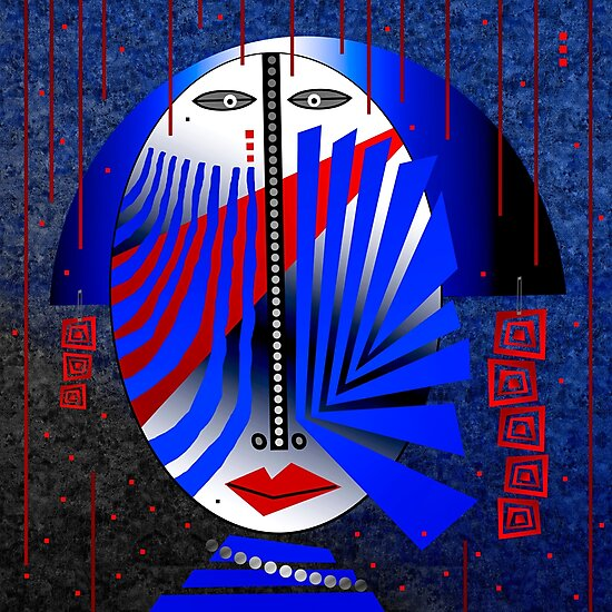 Tribal Whimsy 15 - Photographic Print by Glen Allison