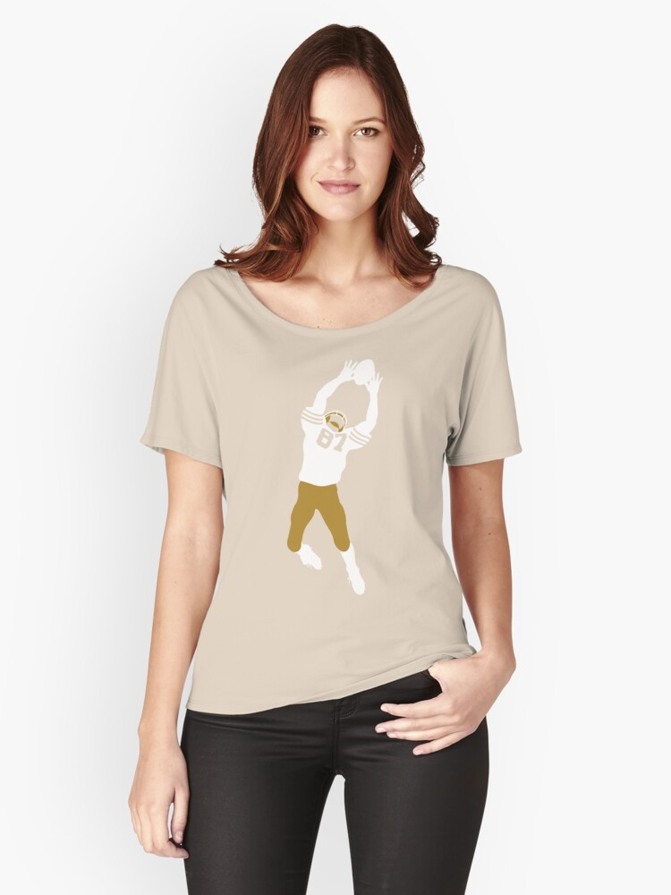 The Catch - White Women's Relaxed Fit T-Shirt Front