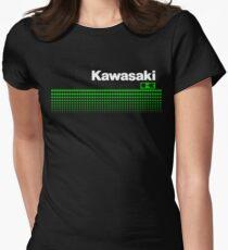 Camiseta entallada para mujer KAWASAKI Circle