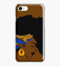 Fro African iPhone Case/Skin