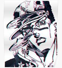 Jotaro Kujo : Whitesnake Poster