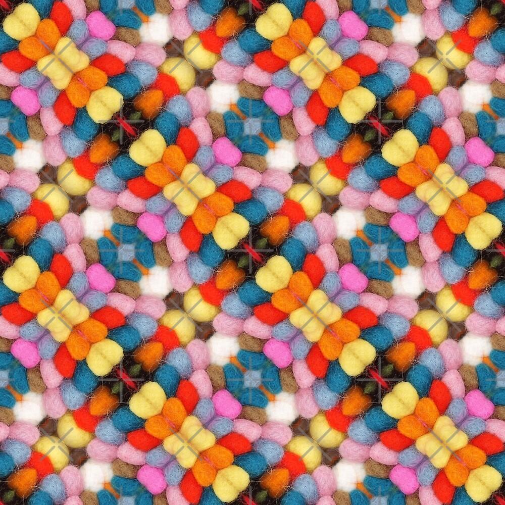 Bobble Cross (pattern) by Yampimon