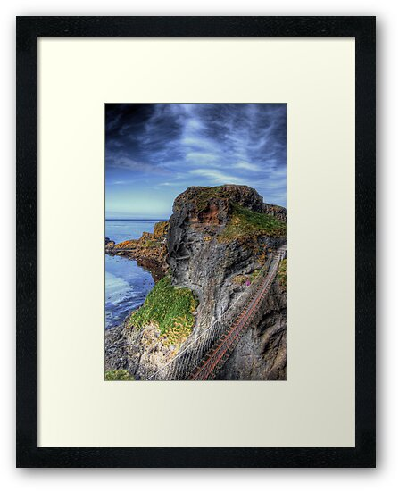 Carrick-a-Rede Rope Bridge, Antrim by Kieran Donnelly