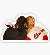 brittana hug Sticker
