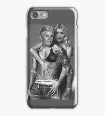 Justin Bieber Calvin Klein Parody - Ellen & Portia iPhone Case/Skin