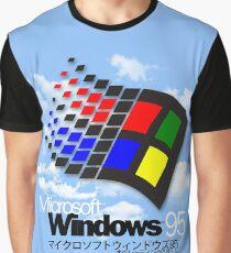 Camiseta gráfica WINDOWS 95