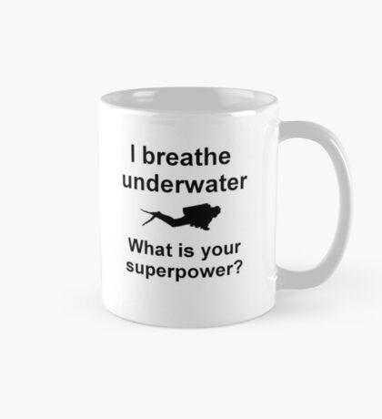 I breathe underwater Mug