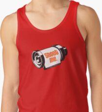 Shoot me 35mm film roll Tank Top