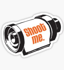 Shoot me 35mm film roll Sticker