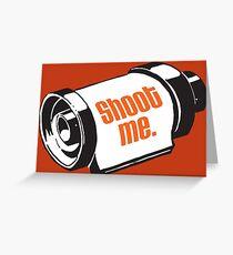 Shoot me 35mm film roll Greeting Card