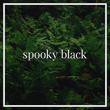 Spooky Black by grubz