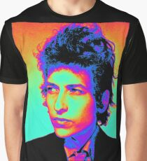 Bob Dylan Psychedelic Graphic T-Shirt