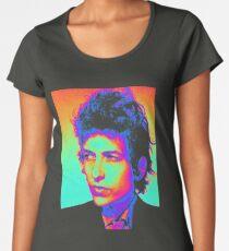 Bob Dylan Psychedelic Women's Premium T-Shirt