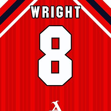 Ian Wright iPhone Arsenal Home 1992 Shirt by dandroid707