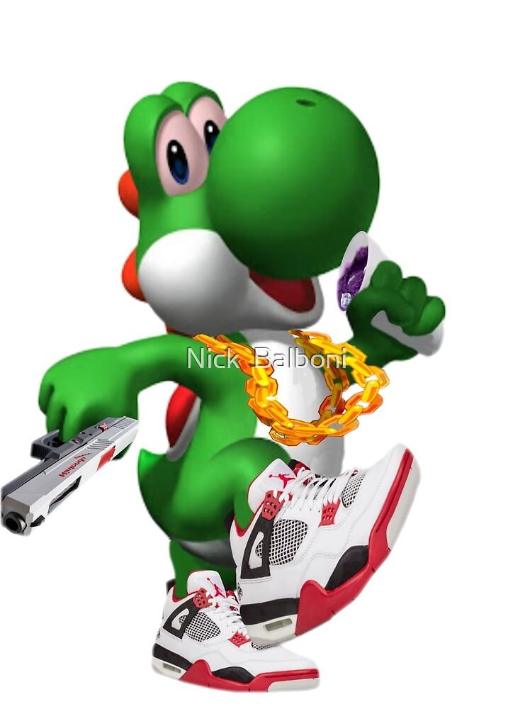 Super Mario Bros Yoshi  by Nick Balboni