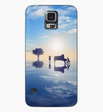 Your Lie In April Silhouette Case/Skin for Samsung Galaxy