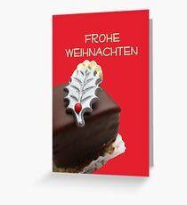 Frohe weinachten: Christmas Chocolates Greeting Card