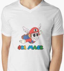 $ki Mask - Slump 64 Men's V-Neck T-Shirt