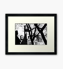 Untitled - WT B&W Framed Print
