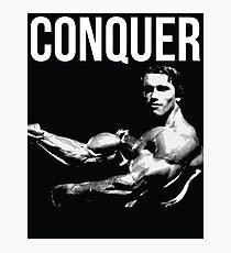 Arnold Schwarzenegger Photographic Print